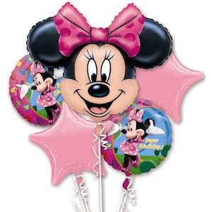 Large Pink Minnie Mouse Bouquet