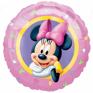 Minnie Mouse Pink Foil Balloon