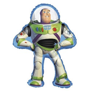 Buzz Lightyear Shaped Foil Balloon
