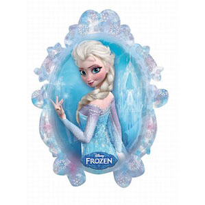 Disney's Frozen Princess Foil Balloon