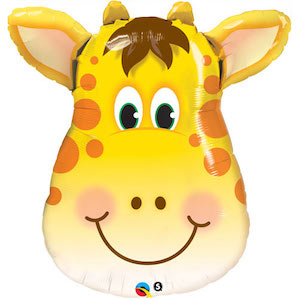 Giraffe Head Shaped Balloon