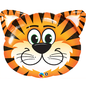 Tiger Head Shaped Balloon