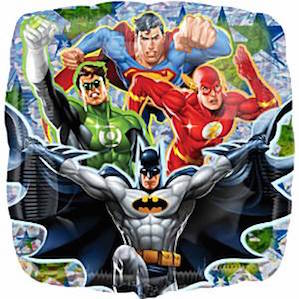 Justice League Square Balloon