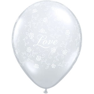 Love Filigree Balloon