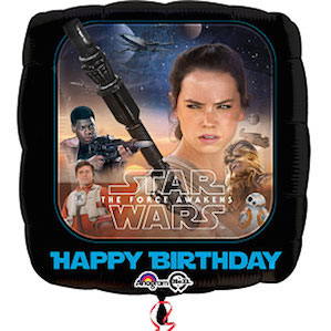 Star Wars The Force Awakens Square Balloon