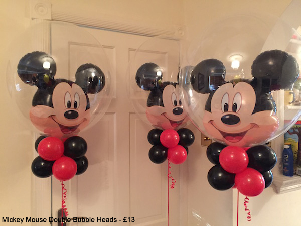 Mickey Mouse Double Bubble Heads - £13