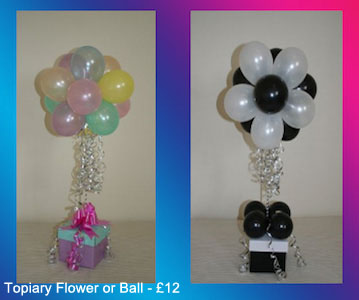 Topiary Flower or ball- £7.50