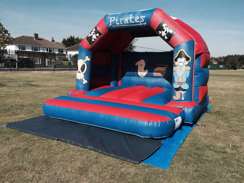 Pirate Bouncy Castle 12 x 12. 1-5 years. Add on for £60 or rent separately for £70 per day.