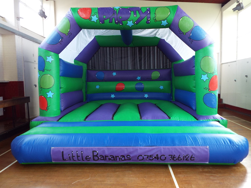 Bouncy Castle 15 x 15 Add on for £75 or rent separately for £85. Great size for when you have a large number of children attending.