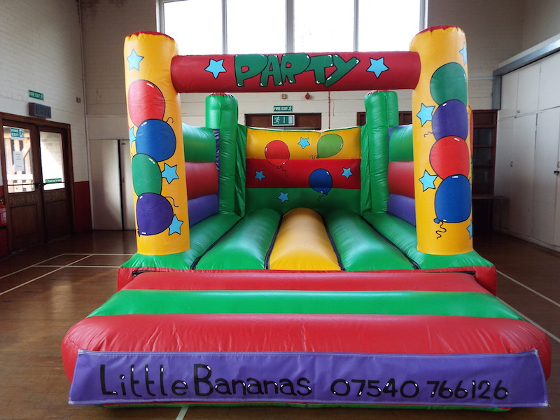 Bouncy Castle 15 x 11. Add on for £60 or rent separately for £70. Only 8 foot high so perfect for venues with lower ceilings.