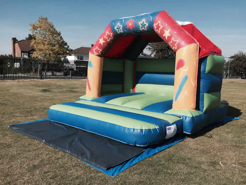 Bouncy Castle 12 x 12. 1-5 years. Add on for £60 or rent separately for £70 per day.
