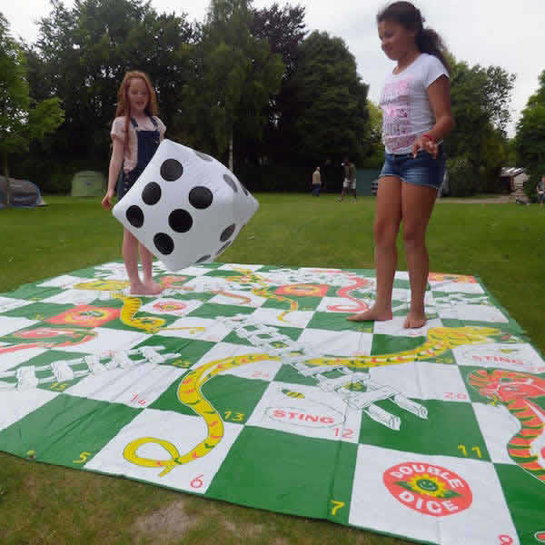 Giant Snakes and Ladders. £20.
